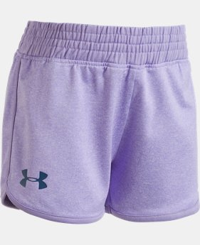Girls' Pre-School UA Record Breaker Shorts   $12.74