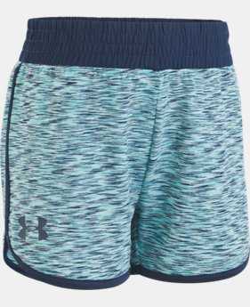 Girls' Pre-School UA Record Breaker Shorts  3  Colors $21.99