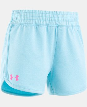 Girls' Pre-School UA Record Breaker Shorts  1 Color $15.99