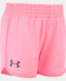 Girls' Pre-School UA Record Breaker Shorts  1 Color $21.99