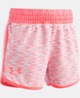 Girls' Pre-School UA Record Breaker Shorts  1  Color Available $21.99