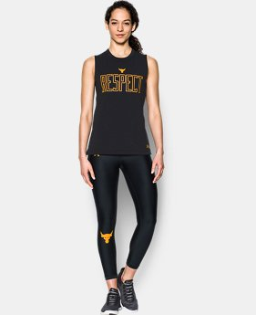 Women's UA x Project Rock Muscle Tank  1 Color $27.99