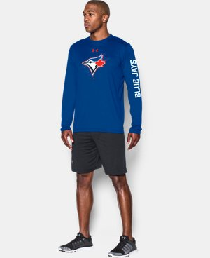 New Arrival  Men's Toronto Blue Jays UA Tech™ Long Sleeve T-Shirt LIMITED TIME: FREE SHIPPING 1 Color $44.99