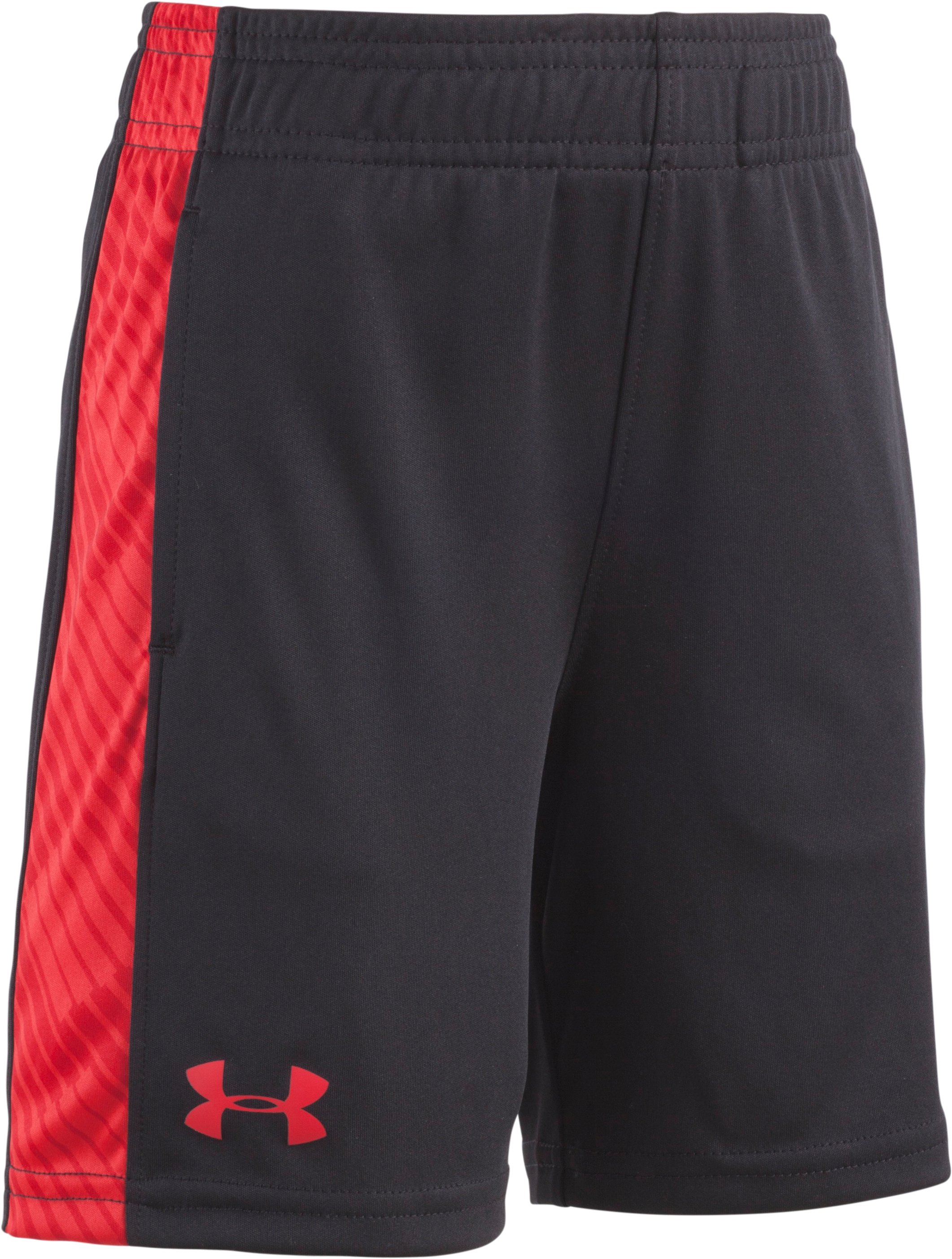 Boys' Pre-School UA Tilt Shift Eliminator Shorts, Black , Laydown