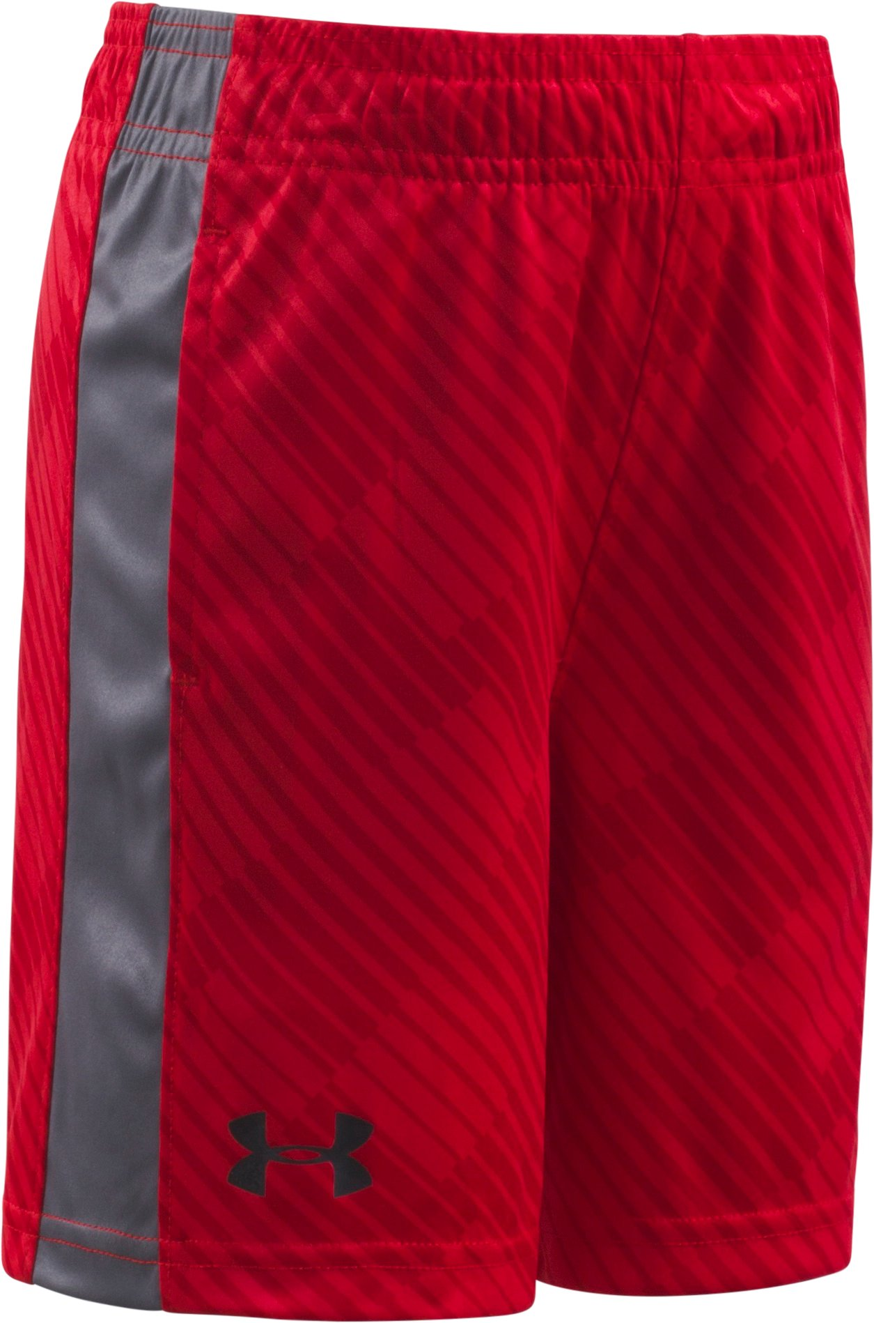 Boys' Toddler UA Tilt Shift Eliminator Shorts, Red, Laydown