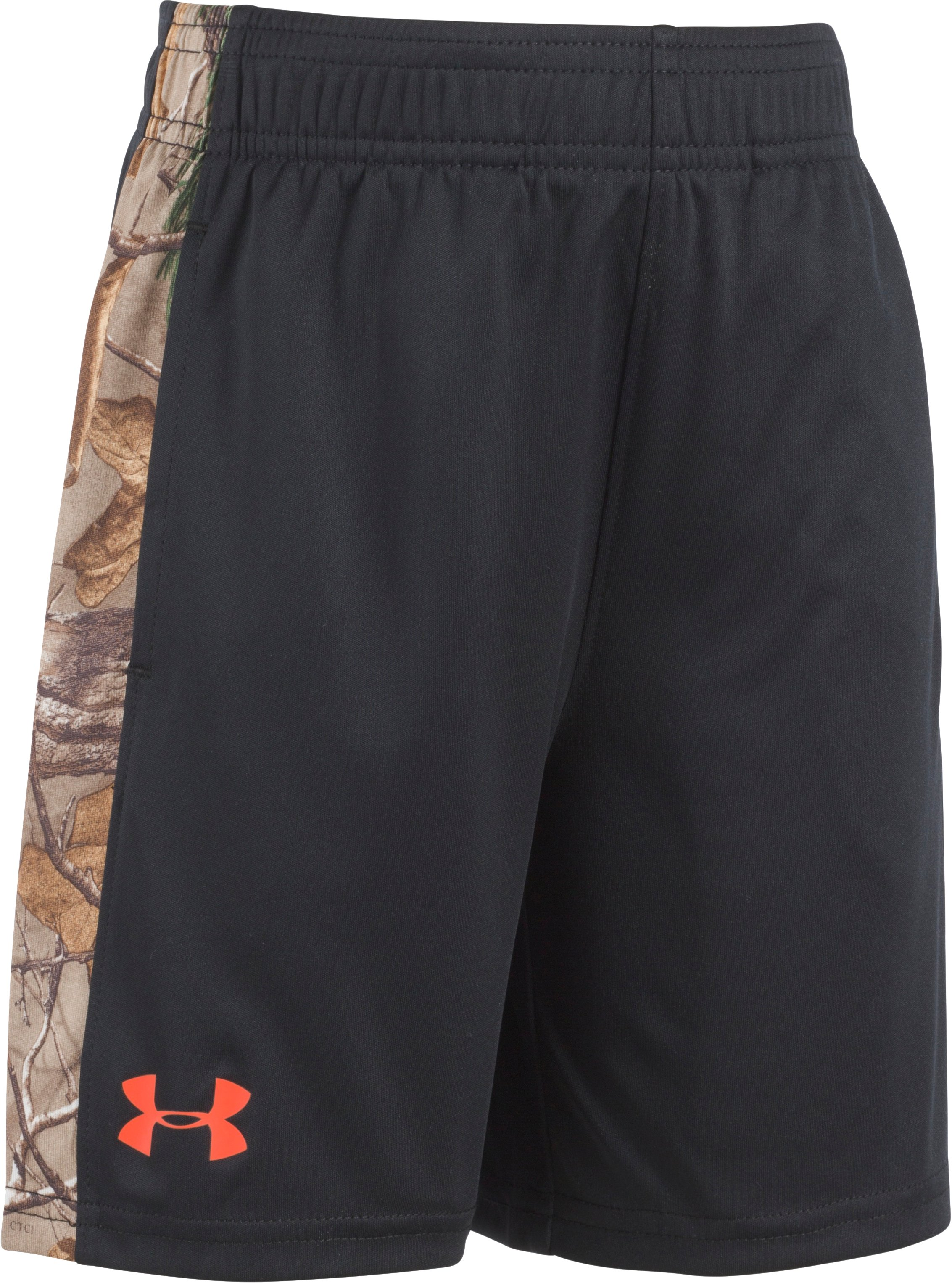 Boys' Toddler UA Camo Eliminator Shorts, Assorted, Laydown
