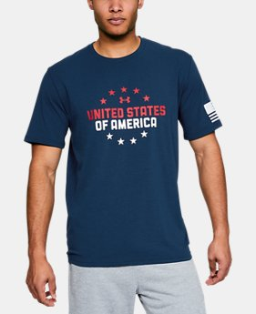 Men's UA Freedom One Nation T-Shirt  2  Colors Available $18.75