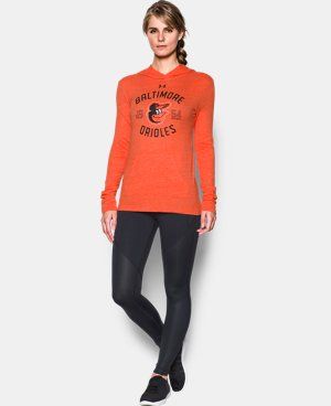 Women's Baltimore Orioles UA Charged Cotton® Tri-Blend Hoodie  1 Color $44.99