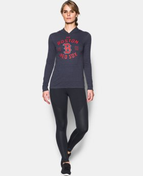 Women's Boston Red Sox UA Charged Cotton® Tri-Blend Hoodie  1 Color $44.99