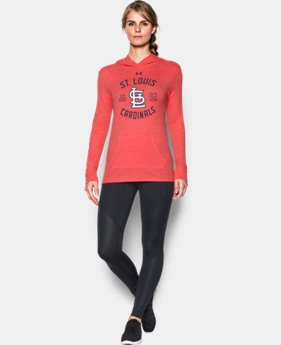 Women's St. Louis Cardinals UA Charged Cotton® Tri-Blend Hoodie   $44.99