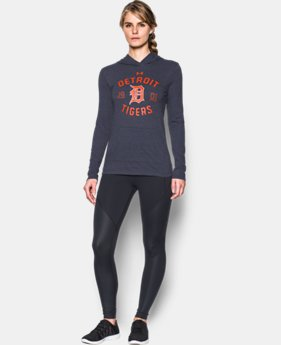 Women's Detroit Tigers UA Charged Cotton® Tri-Blend Hoodie LIMITED TIME: FREE U.S. SHIPPING 1 Color $44.99