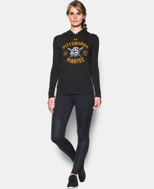 Women's Pittsburgh Pirates UA Charged Cotton® Tri-Blend Hoodie  1 Color $44.99