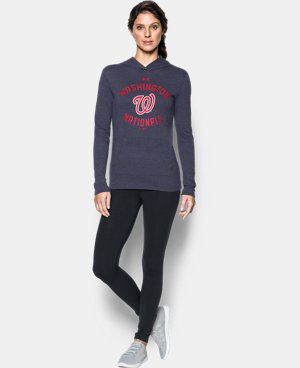 Women's Washington Nationals UA Charged Cotton® Tri-Blend Hoodie  1 Color $44.99