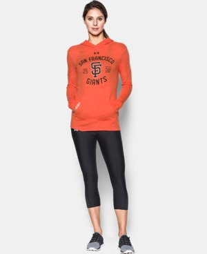 Women's San Francisco Giants UA Charged Cotton® Tri-Blend Hoodie LIMITED TIME: FREE U.S. SHIPPING 1 Color $44.99