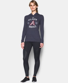 Women's Atlanta Braves UA Charged Cotton® Tri-Blend Hoodie  1 Color $44.99