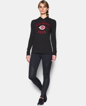 New to Outlet Women's Cincinnati Reds UA Charged Cotton® Tri-Blend Hoodi  1 Color $31.99