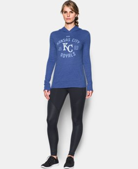 Women's Kansas City Royals UA Charged Cotton® Tri-Blend Hoodie LIMITED TIME: FREE U.S. SHIPPING 1 Color $44.99