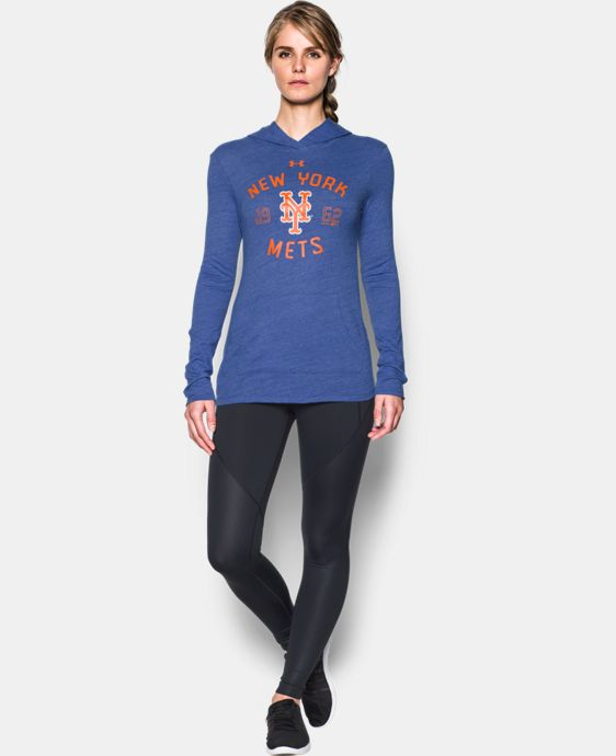 Women's New York Mets UA Charged Cotton® Tri-Blend Hoodie  1 Color $44.99