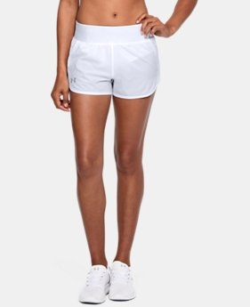 New Arrival Women's UA Launch Tulip Speedpocket Shorts  1 Color $45