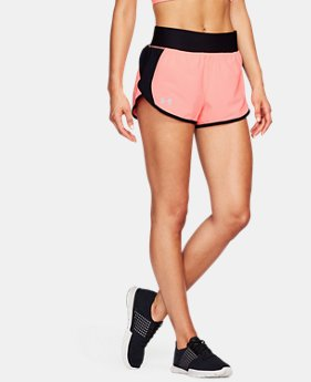 Women's UA Launch Tulip Speedpocket Shorts   $27