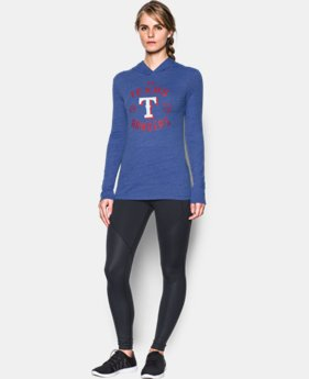 Women's Texas Rangers UA Charged Cotton® Tri-Blend Hoodie  1 Color $44.99