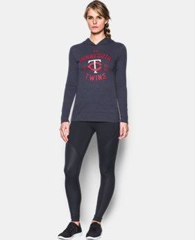 Women's Minnesota Twins UA Charged Cotton® Tri-Blend Hoodie  1 Color $44.99