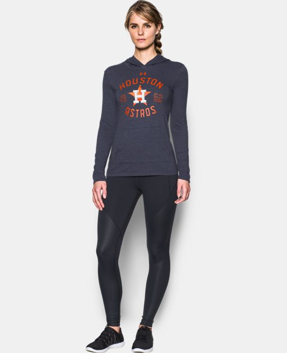 Women's Houston Astros UA Charged Cotton® Tri-Blend Hoodie  1 Color $44.99