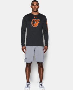 Men's Baltimore Orioles UA Tech™ Long Sleeve T-Shirt  1 Color $37.99