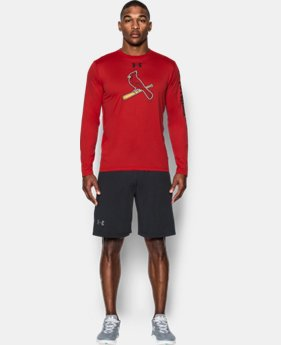Men's St. Louis Cardinals UA Tech™ Long Sleeve T-Shirt  1 Color $37.99