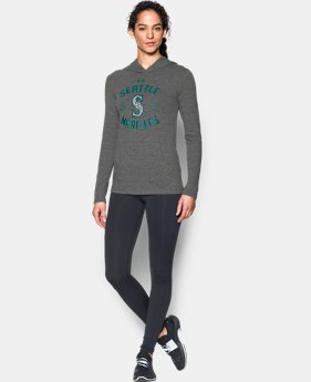 Women's Seattle Mariners UA Charged Cotton® Tri-Blend Hoodie  1 Color $31.99