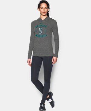Women's Seattle Mariners UA Charged Cotton® Tri-Blend Hoodie  1 Color $44.99