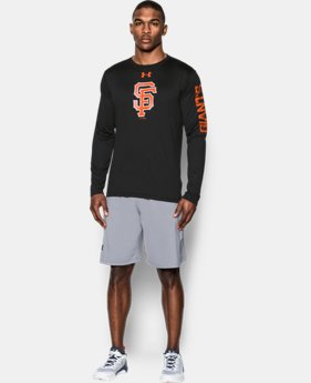 Men's San Francisco Giants UA Tech™ Long Sleeve T-Shirt  1 Color $37.99