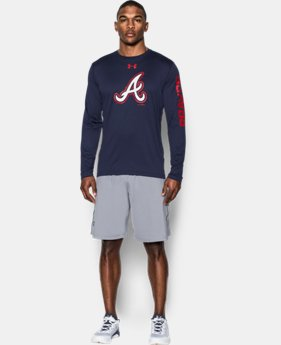 Men's Atlanta Braves UA Tech™ Long Sleeve T-Shirt  1 Color $37.99