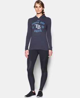 Women's Tampa Bay Rays UA Charged Cotton® Tri-Blend Hoodie  1 Color $44.99