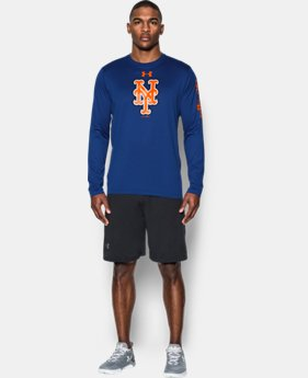 Men's New York Mets UA Tech™ Long Sleeve T-Shirt  1 Color $37.99