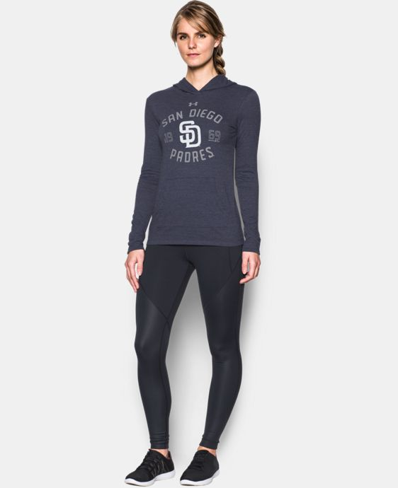 Women's San Diego Padres UA Charged Cotton® Tri-Blend Hoodie  1 Color $44.99