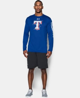 Men's Texas Rangers UA Tech™ Long Sleeve T-Shirt  1 Color $37.99