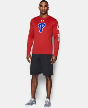 Men's Philadelphia Phillies UA Tech™ Long Sleeve T-Shirt  1 Color $37.99