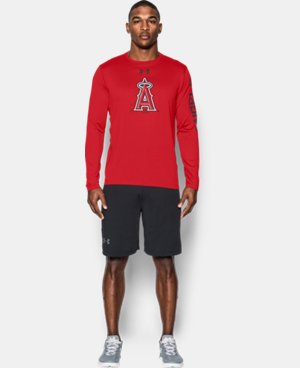 Men's Los Angeles Angels UA Tech™ Long Sleeve T-Shirt  1 Color $37.99