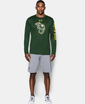 New Arrival Men's Oakland A's UA Tech™ Long Sleeve T-Shirt   $37.99