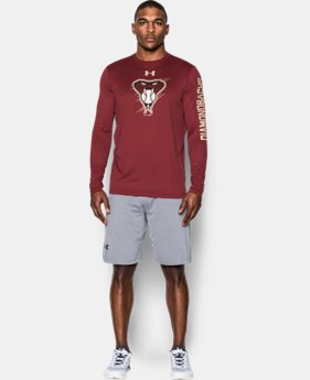 New Arrival Men's Arizona Diamondbacks UA Tech™ Long Sleeve T-Shirt   $37.99