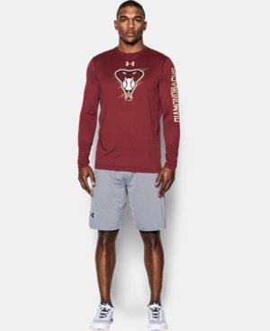 New Arrival Men's Arizona Diamondbacks UA Tech™ Long Sleeve T-Shirt  1 Color $37.99