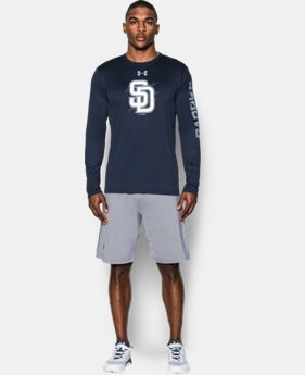 Men's San Diego Padres UA Tech™ Long Sleeve T-Shirt  1 Color $37.99