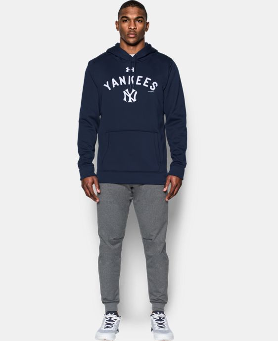 New Arrival Men's New York Yankees Armour® Fleece Hoodie  1 Color $69.99