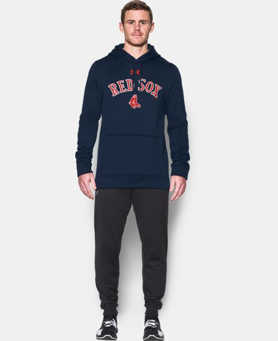 New Arrival Men's Boston Red Sox Armour® Fleece Hoodie  1 Color $69.99