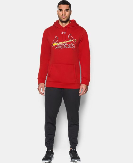 New Arrival Men's St. Louis Cardinals Armour® Fleece Hoodie  1 Color $69.99