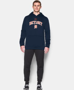 Men's Detroit Tigers Armour® Fleece Hoodie  1 Color $52.99