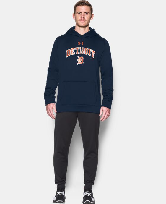 New Arrival Men's Detroit Tigers Armour® Fleece Hoodie  1 Color $69.99