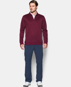 Men's UA Storm SweaterFleece Herringbone ¼ Zip LIMITED TIME OFFER 3 Colors $59.49