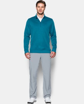 Men's UA Storm SweaterFleece Herringbone ¼ Zip  1 Color $84.99
